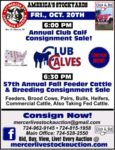 Club Calf Consignment Sale